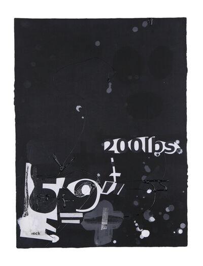 Suzanne McClelland, 'In the Black #7', 2015