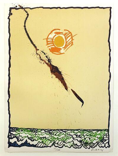 Pierre Alechinsky, 'Objects Volants VII', 1977