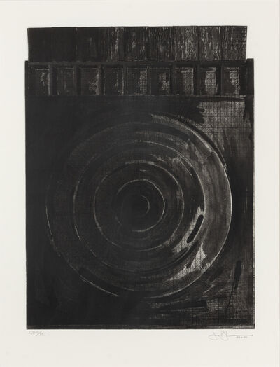 Jasper Johns, 'Target with Plaster Casts', 1990