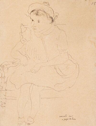 Giovanni Omiccioli, 'Portrait of a child', 1945