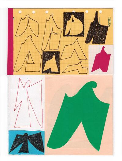 Jeroen Erosie, 'Sketchbook page I', 2019