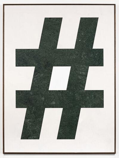 Gabriele de Santis, 'Hashtag work', 2013