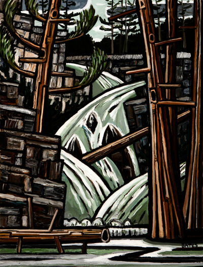 David Bates, 'Waterfall', 2015