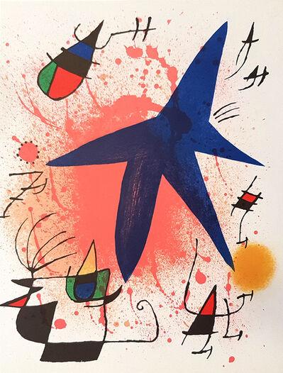 Joan Miró, 'Mirò Lithographe I - Plate I', 1972