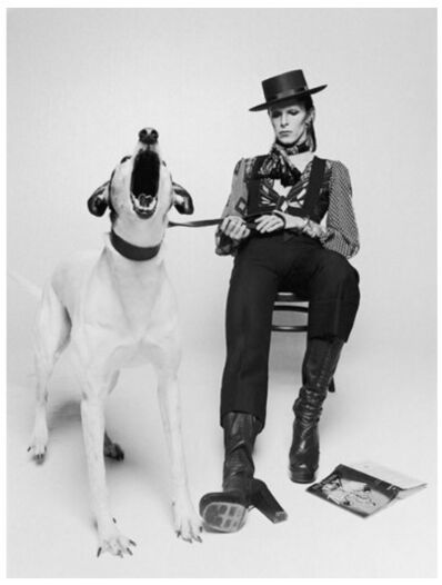 Terry O'Neill, 'David Bowie, Diamond Dogs (view 2)', 1974