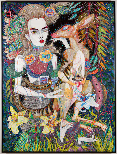 Del Kathryn Barton, 'what i am also', 2013