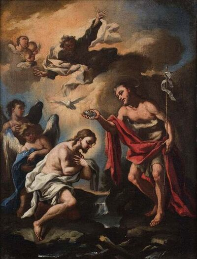 Unknown, 'Baptism Scene', 18th Century