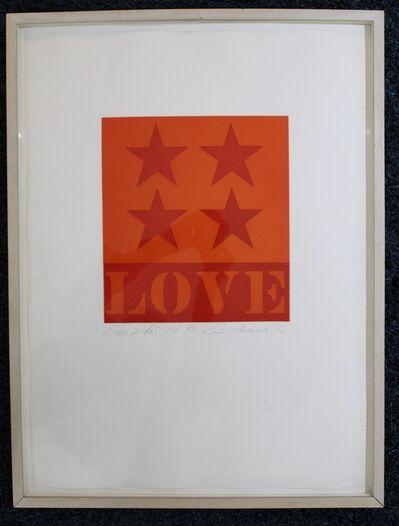 Robert Indiana, 'First Love', 1992