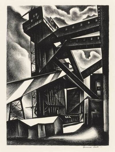 Howard Cook, 'Edison Plant (D. 127)', 1930