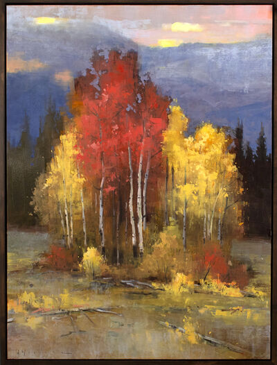 Matthew Sievers, 'Aspens at Sunset', 2019