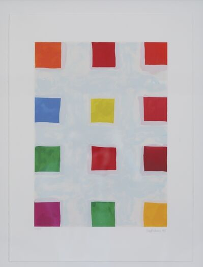 Mary Heilmann, 'Franz West II', 1997