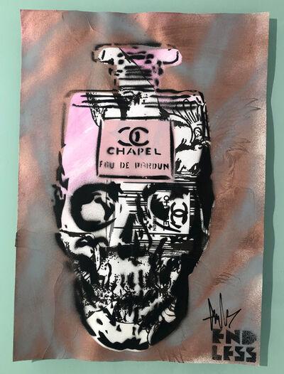 ENDLESS, 'Endless sketch books - series One (Skull XVIII)', 2019