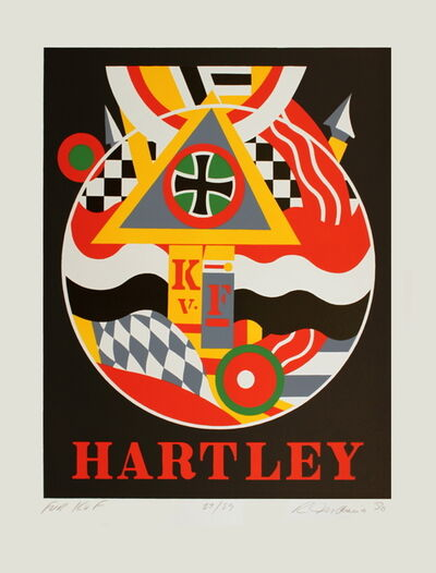 Robert Indiana, 'Fur K. v. F. (Hartley)', 1990