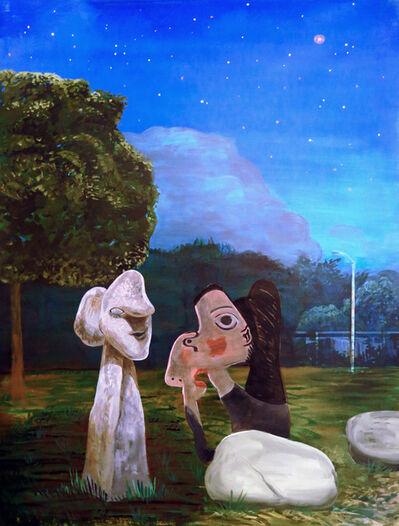 Noah Becker, ' Skulpturengarten', 2020