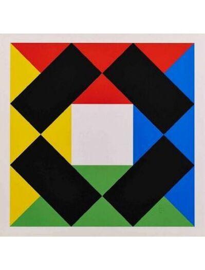 Max Bill, 'White Square', 1980
