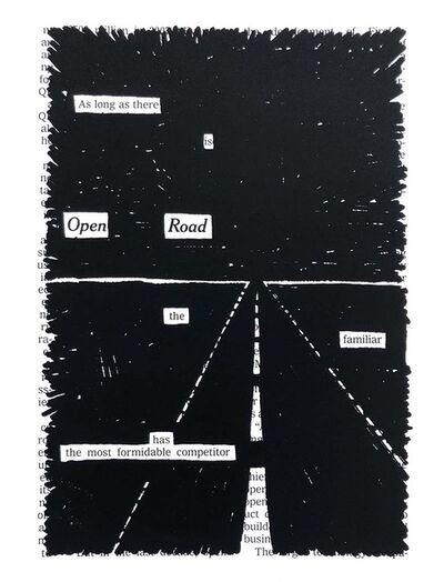 Austin Kleon, 'Open Road', 2010