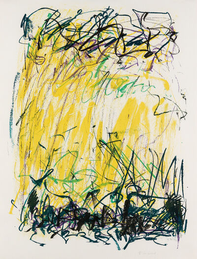 Joan Mitchell, 'Sides of a River II', 1981
