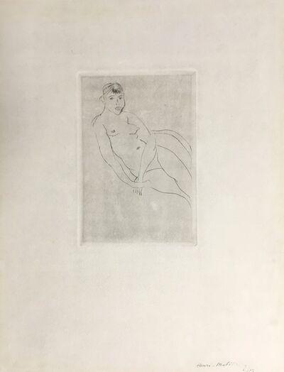 Henri Matisse, 'Petit Nu assis', ca. 1927