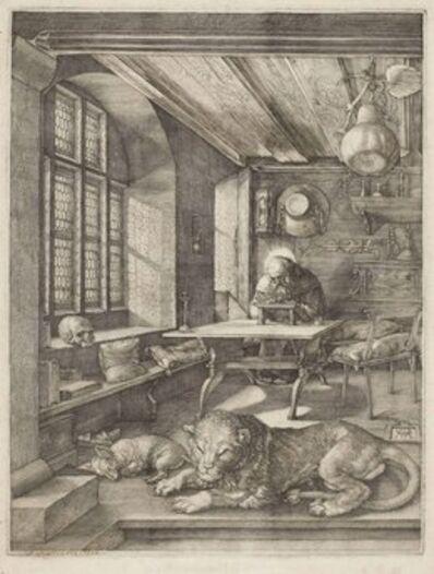 Albrecht Dürer, 'Saint Jerome in his Study (B. 60; M., Holl. 59; S.M.S. 70)', 1514