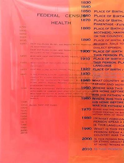 Furen Dai, 'Federal Census (Health)', 2019