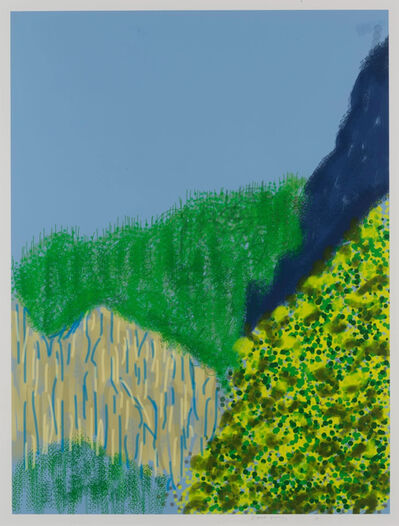 David Hockney, 'Untitled No. 3, from The Yosemite Suite', 2010