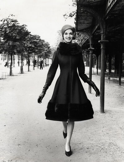 Louis Faurer, 'Model wearing Jules Francois Crahay for Nina Ricci', 1960