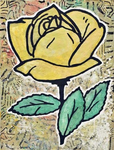 Donald Baechler, 'Yellow Rose', 2008