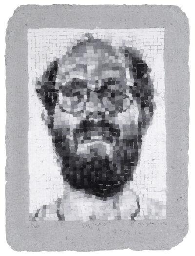 Chuck Close, 'Self-Portrait/Manipulated', 1982