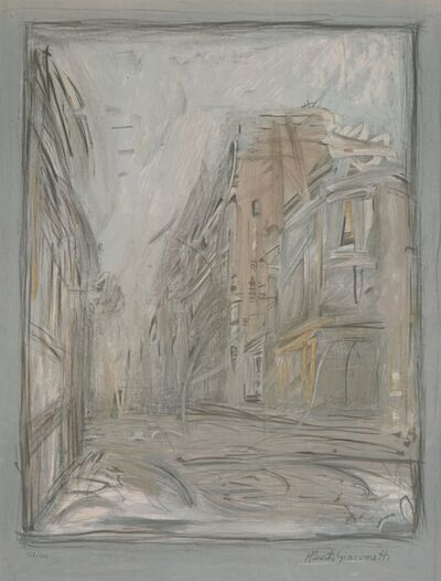 After Alberto Giacometti, 'Rue d'Alesia', 1954