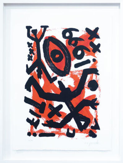A.R. Penck, '666 (The Number of the Beast)', 1999
