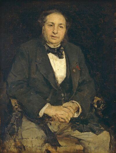 Jules Bastien-Lepage, 'Simon Hayem', 1875