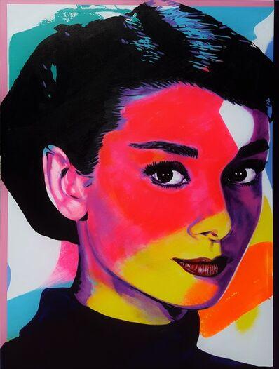 Jack Graves III, 'Audrey Hepburn Icon VI', 2019
