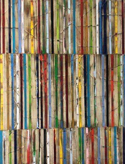 Petra Rös-Nickel, 'Big Stripes', 2021