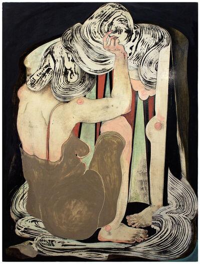 Alex Feuerstein, 'frau vor spiegel I (women in front of mirror I)', 2016
