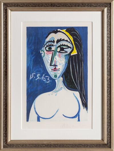 Pablo Picasso, 'Buste de Femme Nue Face', 1973-originally 1963