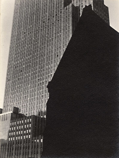 Dorothy Norman, 'Rockefeller Center, Church in Foreground, New York City, NY', 1938