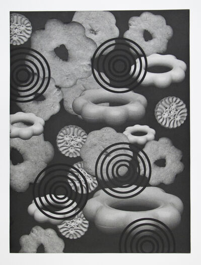 Claire Lieberman, 'Cookie Target 1', 2003