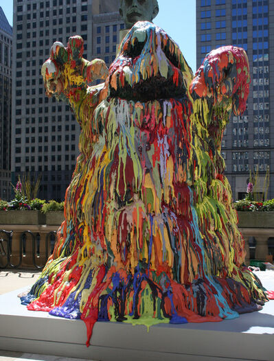 Tony Tasset, 'Blob Monster', 2009