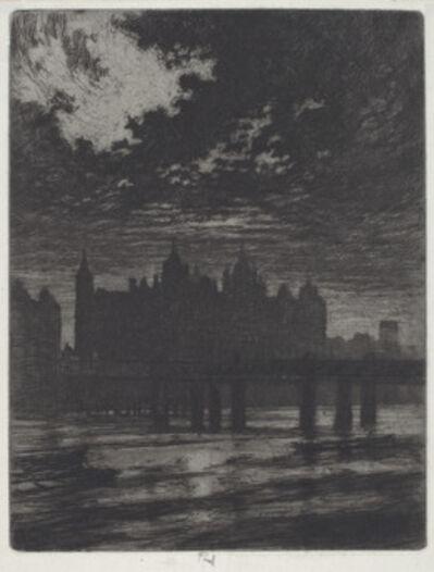 Joseph Pennell, 'Whitehall Court', 1903