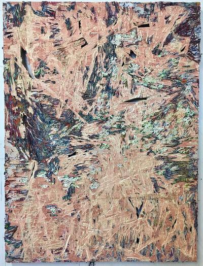 Jacin Giordano, 'cut painting 80', 2017