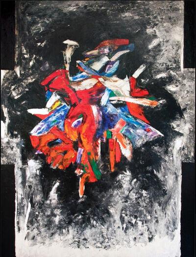 Sonia Gechtoff, 'The Map', 1958