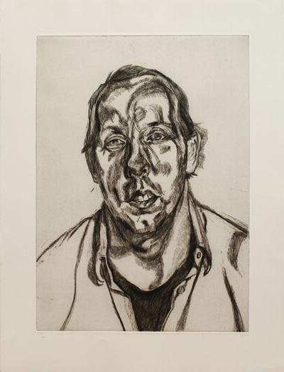 Lucian Freud, 'David Dawson', 1998