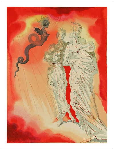 Salvador Dalí, 'The Black Devil, Inferno, The Divine Comedy', 1960