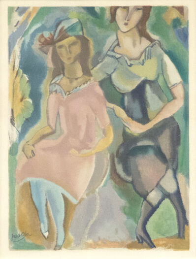Jules Pascin, 'Femininity', Early 20th Century