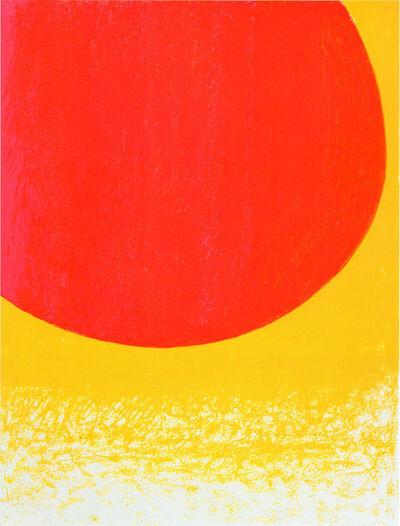 Rupprecht Geiger, 'Rot zu Gelb', 2007