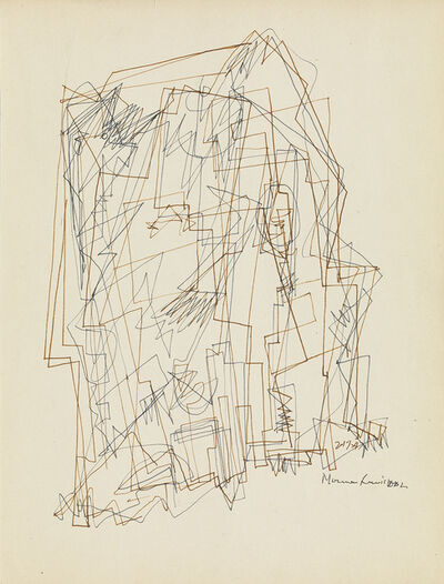 Norman W. Lewis, 'Untitled (Processional Composition).', 1947