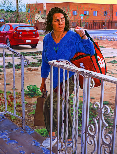 Marianna Olague, 'Mom Delivers Grubhub', 2020