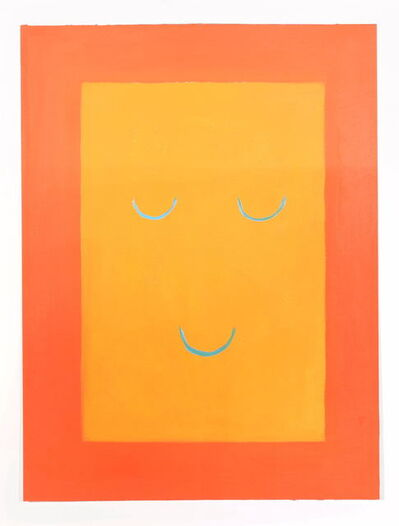 Leonhard Hurzlmeier, 'Smile Set/Orange', 2018