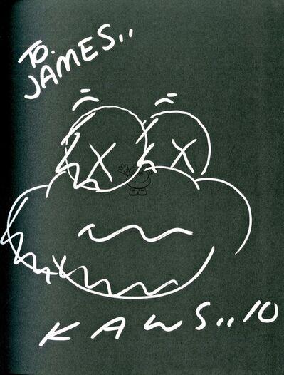 KAWS, 'Original Cloud Drawing dedicated to James', 2010