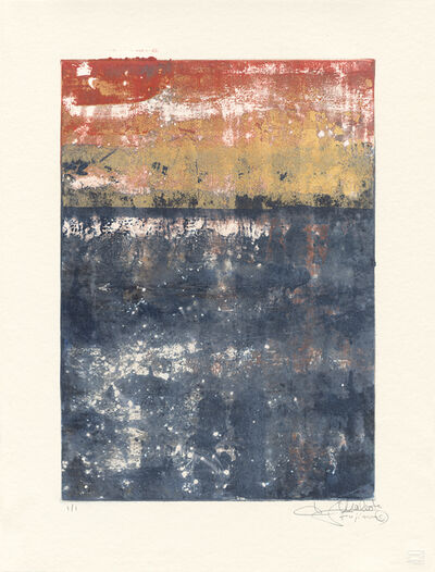 Makoto Fujimura, 'Van Nuys Monotype Series No. 3 凡奈斯絹印單刷系列', 2017